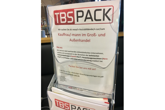 tbs-pack beim Azubi-Speed-Dating